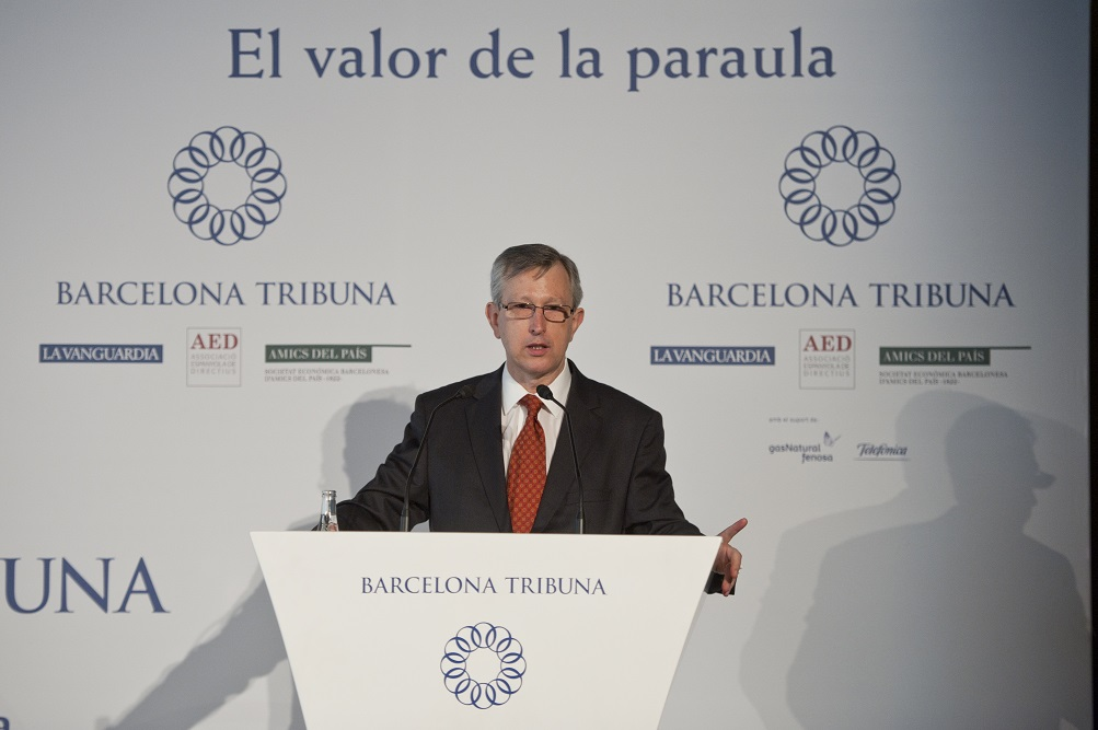 Dr. Joan Massagué al fòrum Barcelona Tribuna