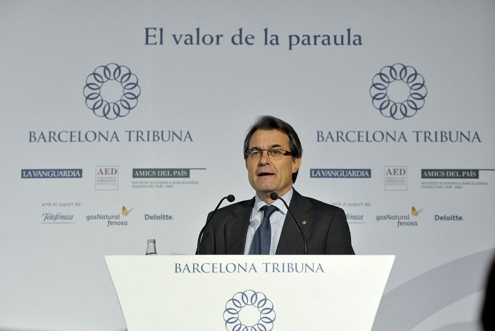 Barcelona Tribuna amb Artur Mas