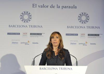 Alicia Sánchez-Camacho a Barcelona Tribuna