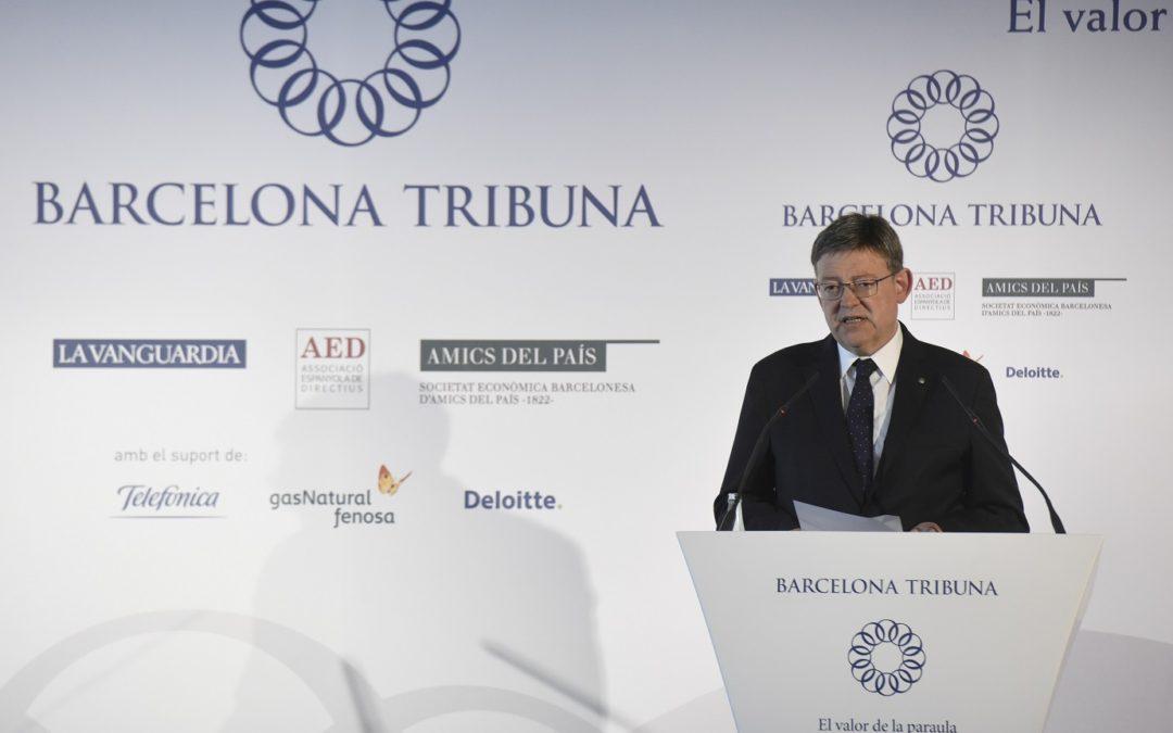 Barcelona Tribuna amb Ximo Puig