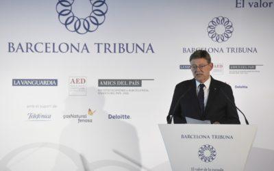Barcelona Tribuna con Ximo Puig