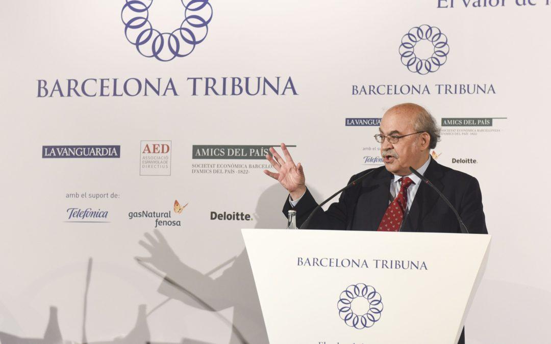 Barcelona Tribuna amb Andreu Mas-Colell