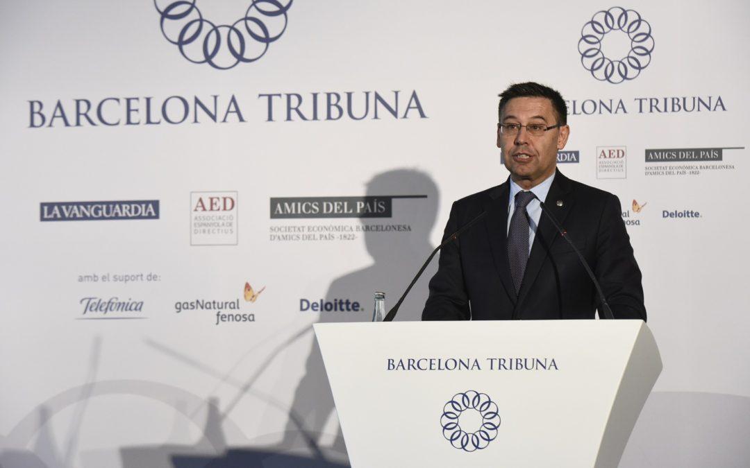 Barcelona Tribuna amb Josep Maria Bartomeu