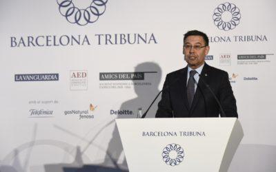 Barcelona Tribuna con Josep Maria Bartomeu