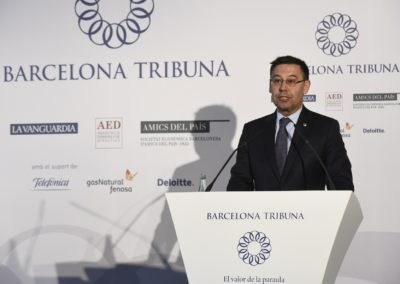 Josep Maria Bartomeu a Barcelona Tribuna