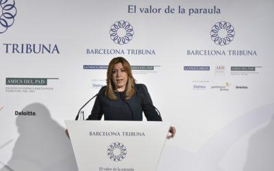 Barcelona Tribuna con Susana Díaz