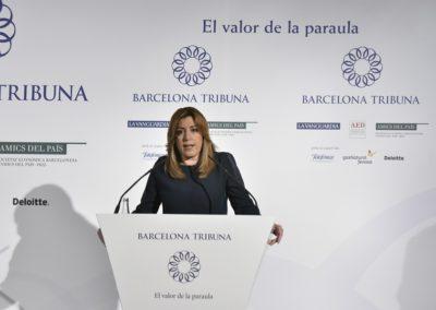Susana Díaz a Barcelona Tribuna
