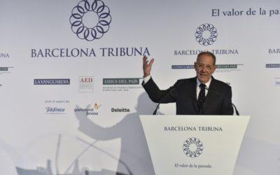 Barcelona Tribuna amb Javier Solana