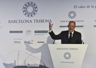 Javier Solana a Barcelona Tribuna