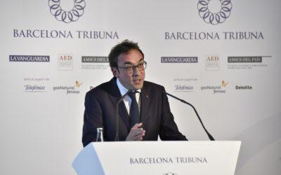 Barcelona Tribuna con Josep Rull