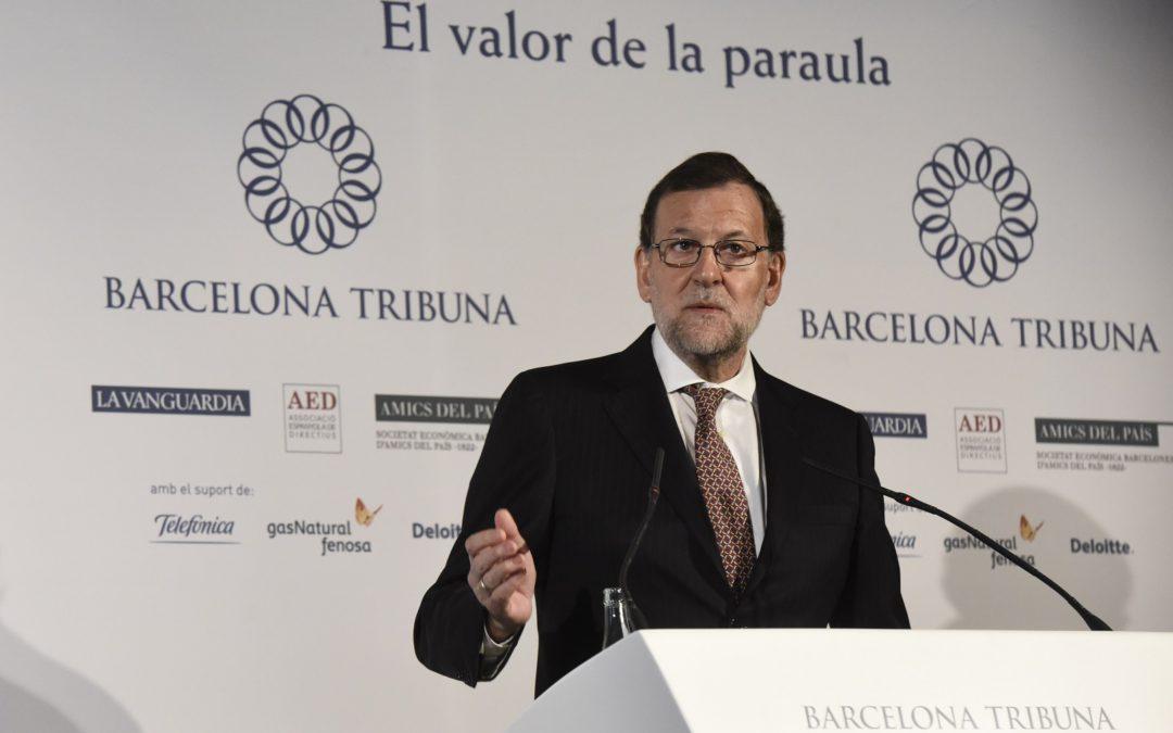 Barcelona Tribuna amb Mariano Rajoy