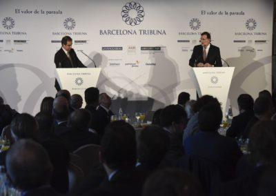 Mariano Rajoy a Barcelona Tribuna