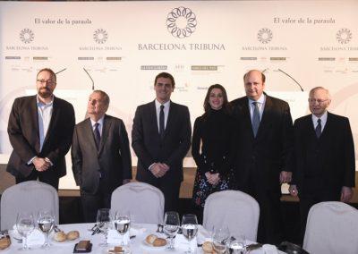 Albert Rivera a Barcelona Tribuna