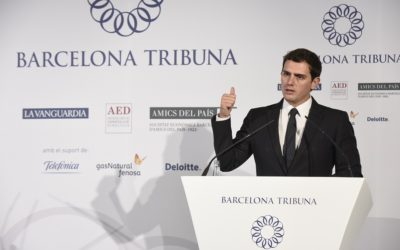 Barcelona Tribuna con Albert Rivera