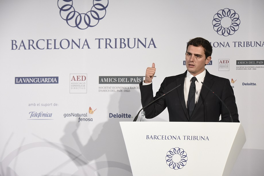Barcelona Tribuna amb Albert Rivera