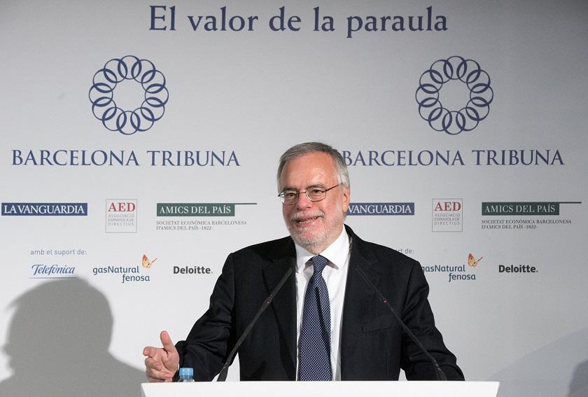 Barcelona Tribuna amb Andrea Riccardi