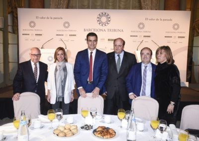 Pedro Sánchez a Barcelona Tribuna