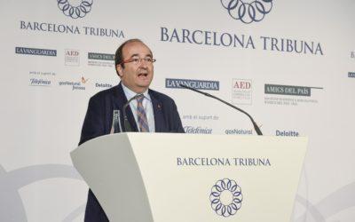 Barcelona Tribuna con Miquel Iceta