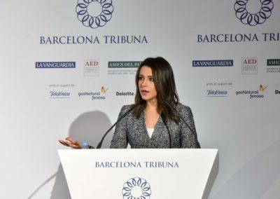 Inés Arrimadas a Barcelona Tribuna