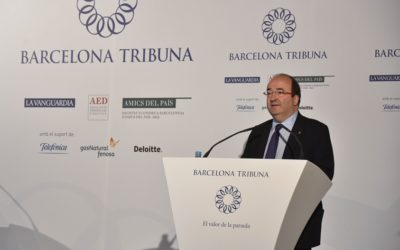 Barcelona Tribuna amb Miquel Iceta