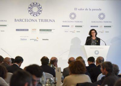 Marta Rovira a Barcelona Tribuna
