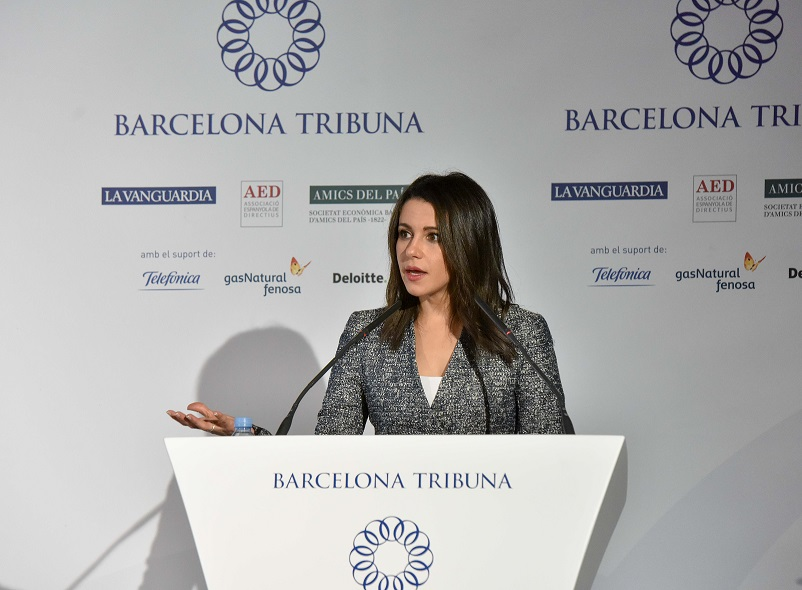 Barcelona Tribuna amb Inés Arrimadas