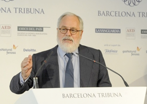 Barcelona Tribuna amb Miguel Arias Cañete