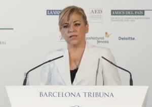 Barcelona Tribuna amb Elena Valenciano
