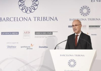 Barcelona Tribuna amb Duran i Lleida 2015