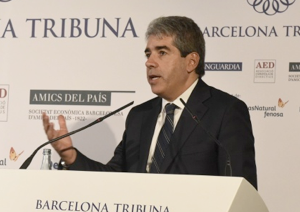 Barcelona Tribuna con Francesc Homs