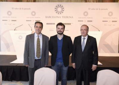 Barcelona Tribuna amb Gabriel Rufian 2015