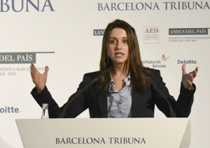 Barcelona Tribuna amb Inés Arrimadas – 2015
