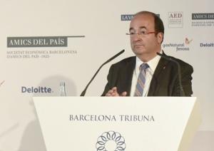 Barcelona Tribuna amb Miquel Iceta – 2015