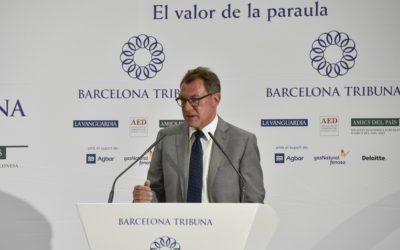 Barcelona Tribuna con Heinz-Peter Tempel