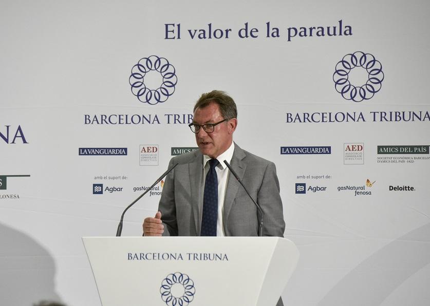 Barcelona Tribuna amb Heinz-Peter Tempel