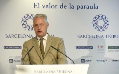 Barcelona Tribuna amb Simon Manley