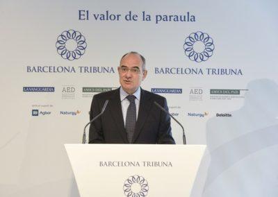Jauem Ducha al Barcelona Tribuna