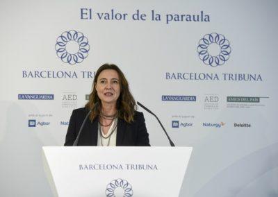 Mercè Conesa a Barcelona Tribuna