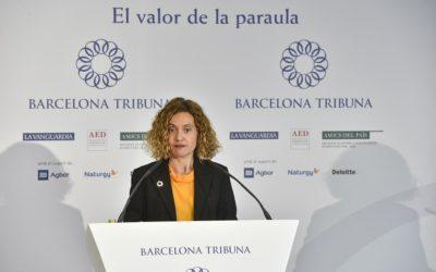 Barcelona Tribuna amb Meritxell Batet