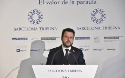 Barcelona Tribuna con Pere Aragonès