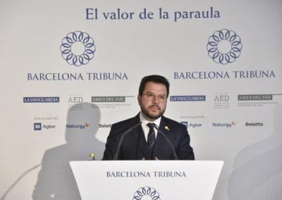 Pere Aragonès a Barcelona Tribuna