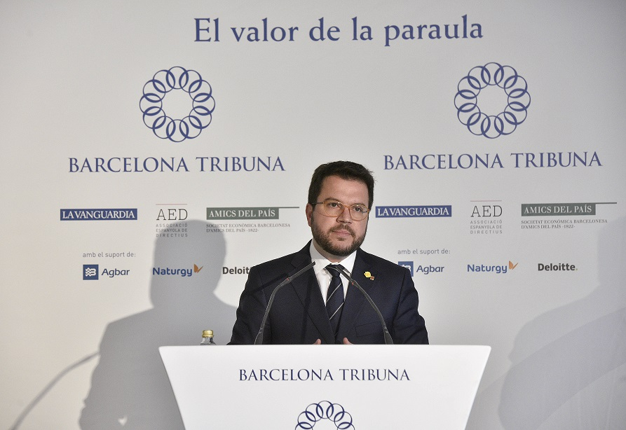 Barcelona Tribuna amb Pere Aragonès
