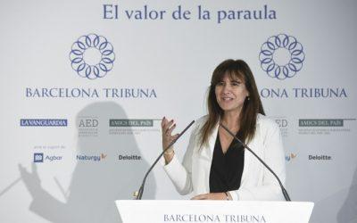 Barcelona Tribuna con Laura Borràs