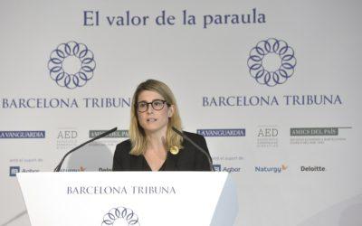 Barcelona Tribuna con Elsa Artadi