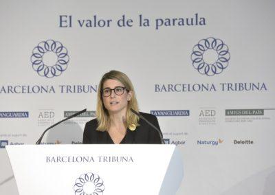 Barcelona Tribuna amb Elsa Artadi