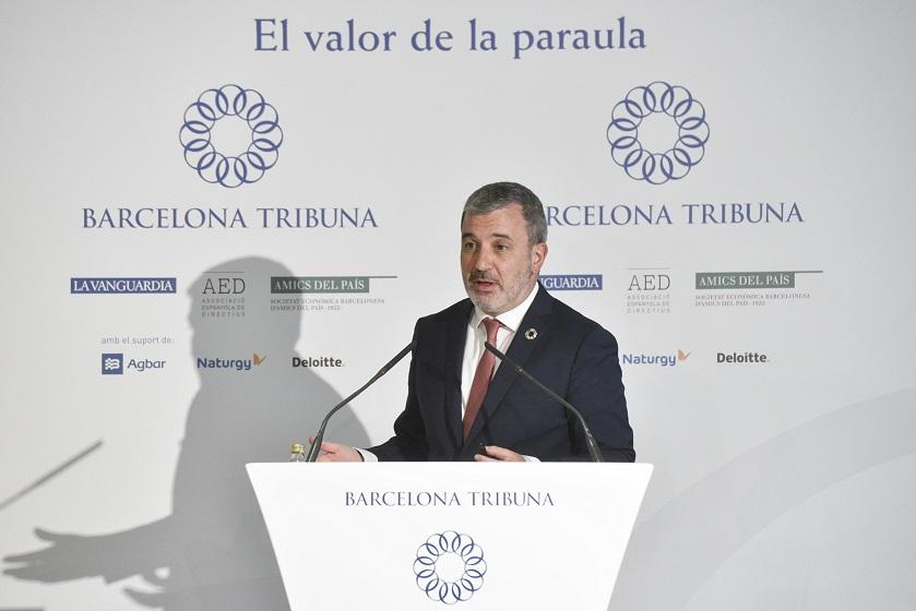 Barcelona Tribuna con Jaume Collboni