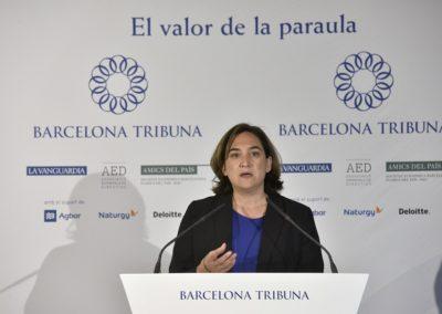 Barcelona Tribuna amb Ada Colau