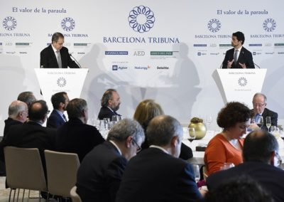 Barcelona tribuna amb Damià Calvet