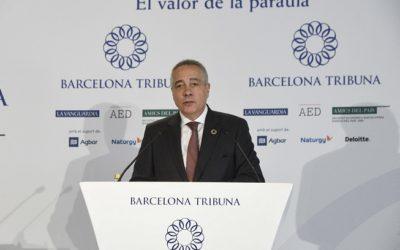 Barcelona Tribuna con Pere Navarro